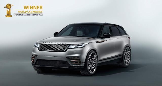 """Range Rover Velar - """"World Car Design of the Year"""" 2018"""