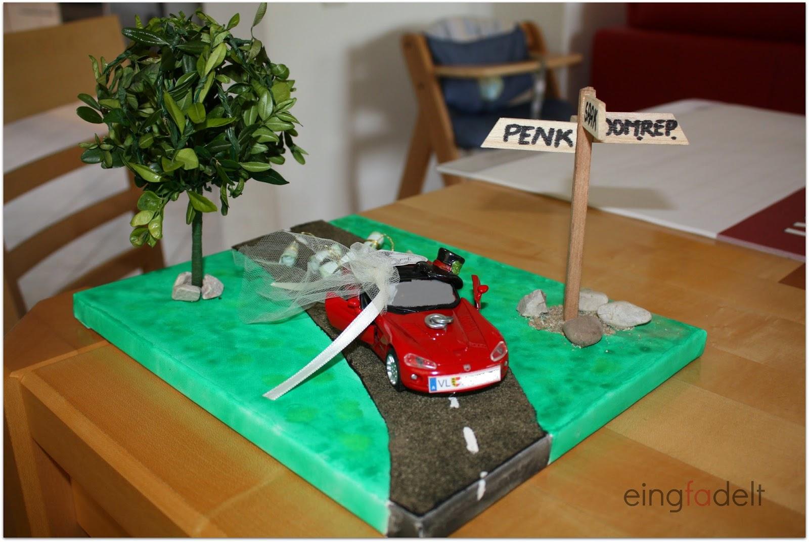 Geldgeschenk Hochzeit Auto Explosionsbox Zur Hochzeit Werkelrausch