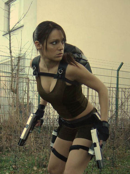 sexy lara croft cosplay girls damn cool pictures. Black Bedroom Furniture Sets. Home Design Ideas