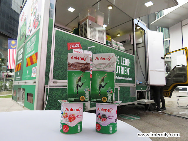 Stay Active, Stay Agile with Anlene UHT Milk