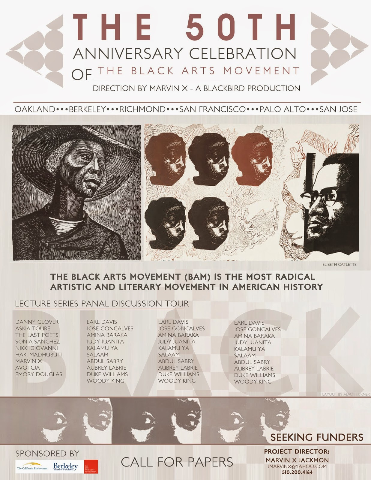 Black bird press news review the black arts movement bam the graphics by adam turner black bird productions buycottarizona