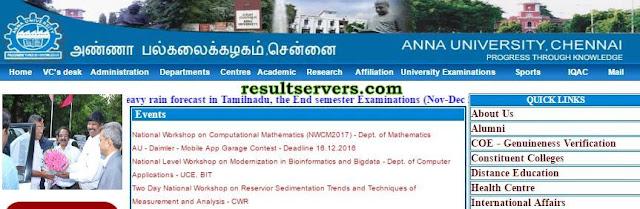 Anna university results 2017