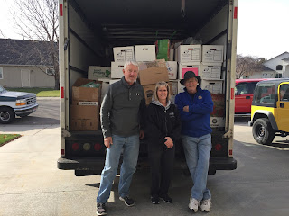 meridian optimists food drive