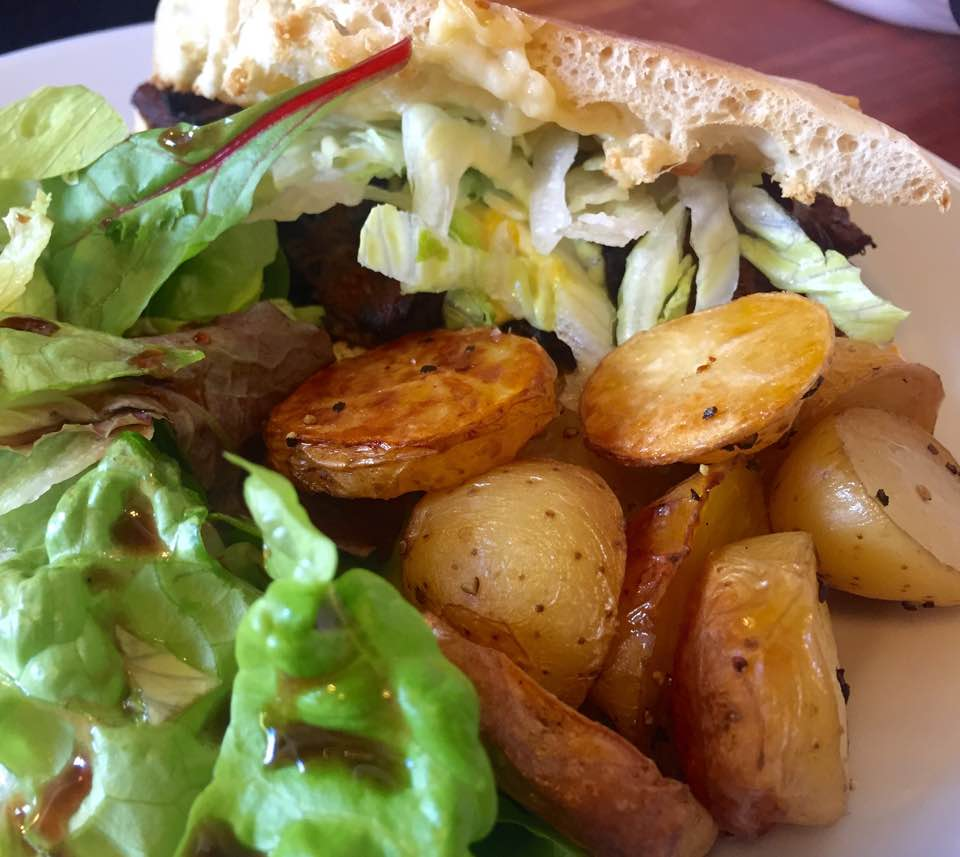 Quilliam Brothers Teahouse | Newcastle - Lunch Menu Review - The Big Q Sandwich