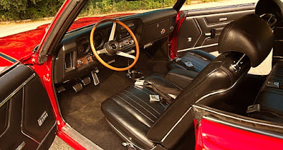 1969 Pontiac LeMans GTO The Judge Interior Cabin