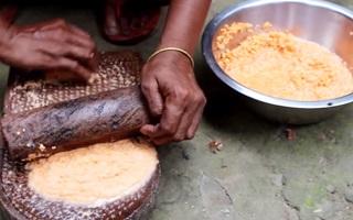 Village Food | Small fish kofta curry