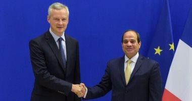 وزير الاقتصاد والمالية الفرنسي يصل القاهرة