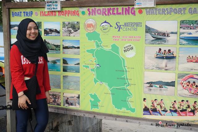 Trip ke Pulau Pangkor [Part 2]