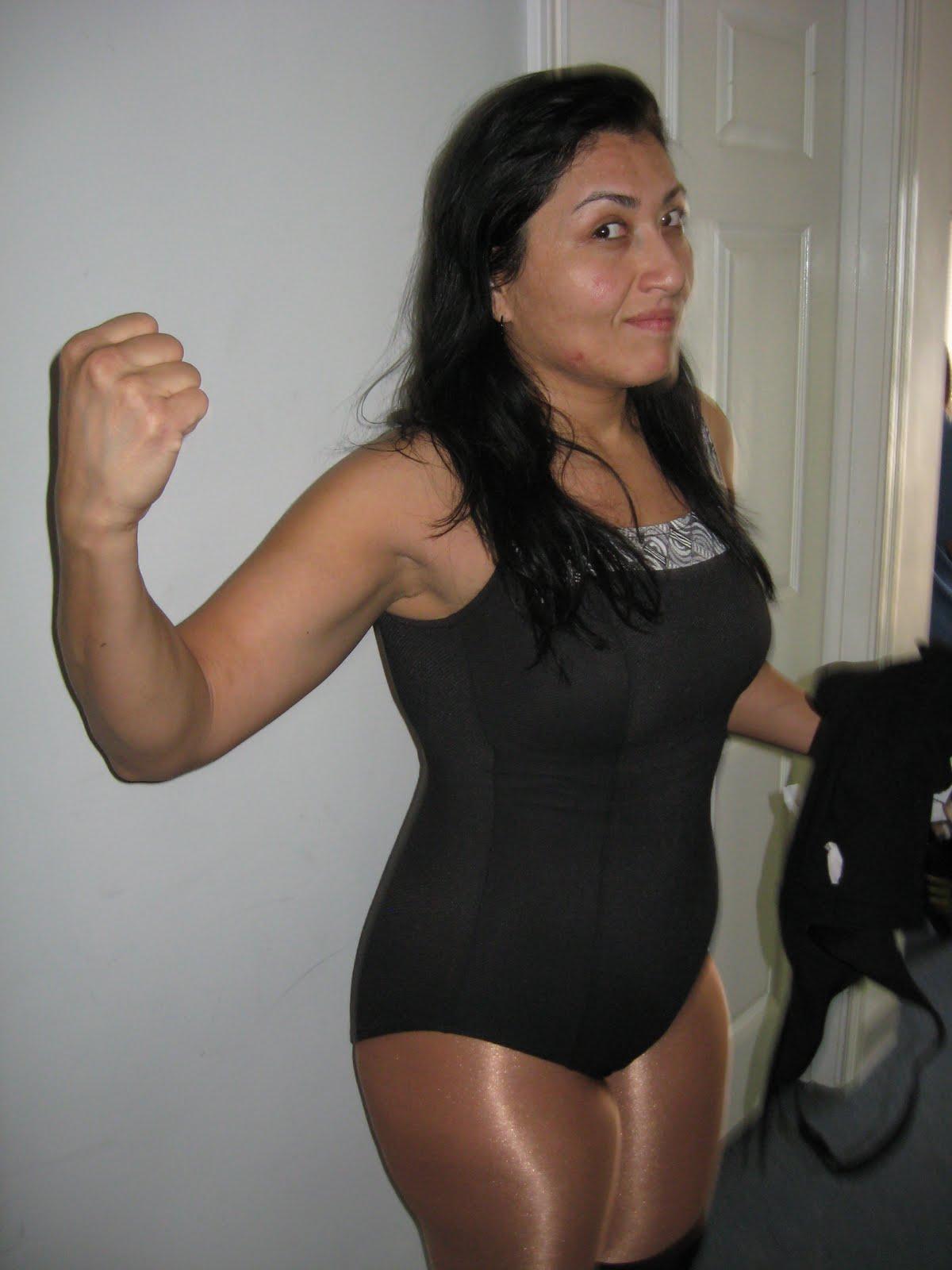 Denise Storm Female Wrestler Nude 5