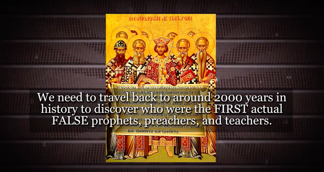 We need to travel back to around 2000 years in history to discover who were the FIRST actual FALSE prophets, preachers, and teachers.