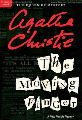 The Moving Finger by Agatha Christie - book cover