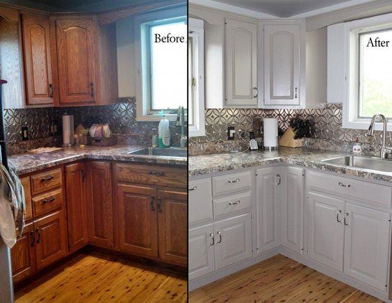pintar armários de cozinha