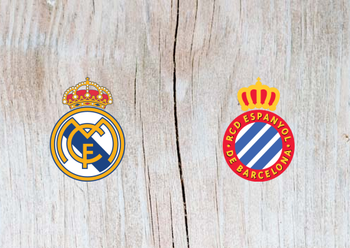 Real Madrid vs Espanyol  Full Match & Highlights 22 September 2018