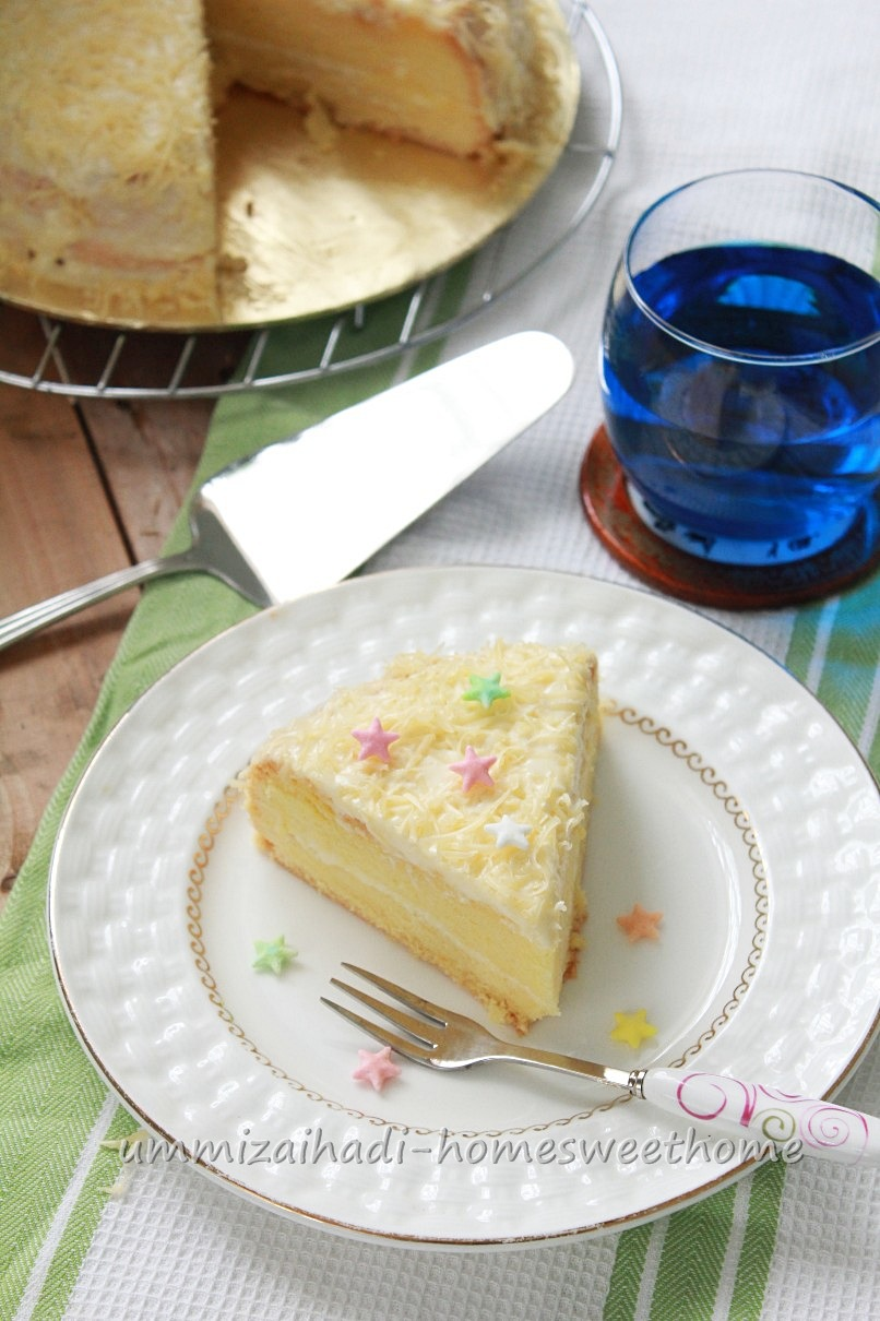 Home Sweet Home: Snow Cheese Cake