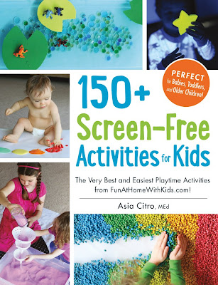 150+ Screen-Free Activities for Kids book cover