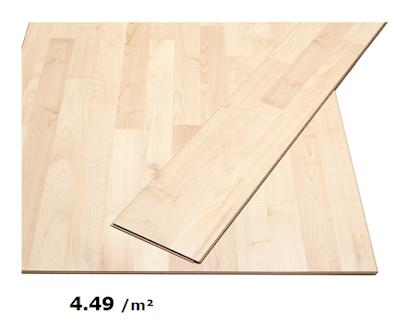 Ikea Slatten laminaat