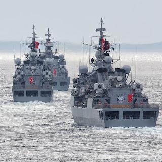 """13-25 mayıs tarihlerinde gerçekleştirilecek """"Deniz kurdu 2109""""tatbikatında TCG KINALIADA (F-514)'ün yanı sıra Çok Namlulu Roketatar (çnra) ve L-UMTAS ilk defa kullanılacak."""