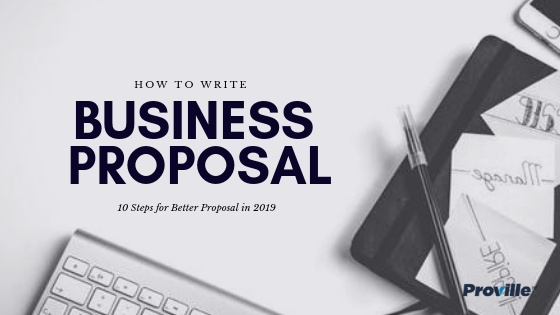 How to Write business proposal -001