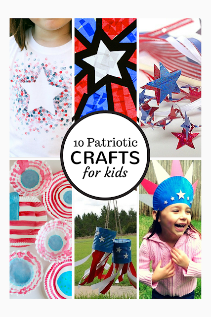 Tutus and Tea Parties: 4th of July Patriotic Crafts for Kids