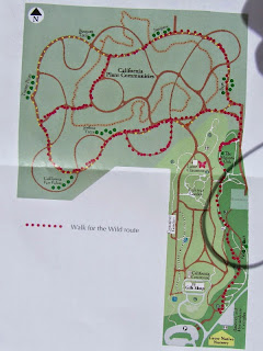 Walk for the Wild map
