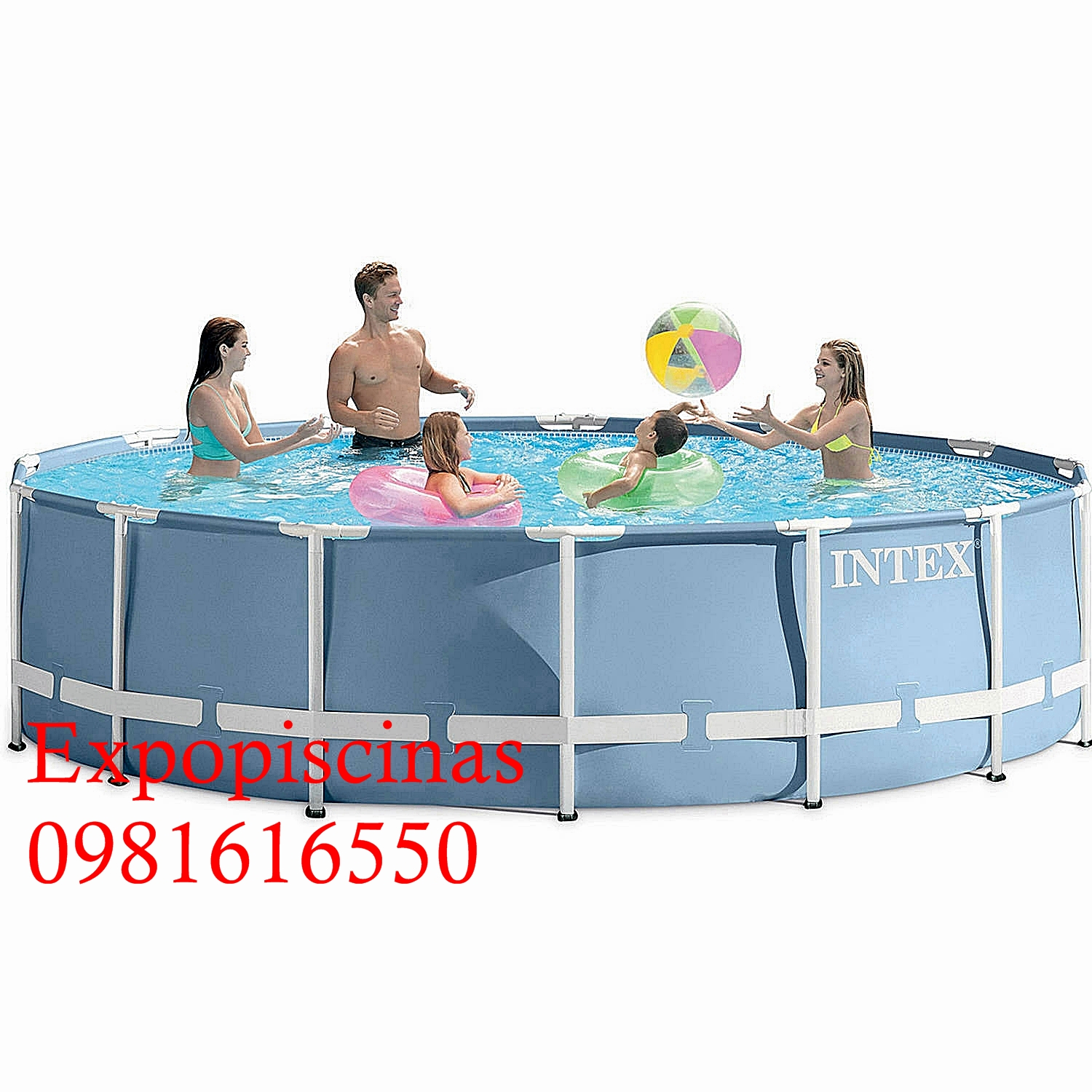 Piscina De Plastico 12000 Litros Intex Expo Piscinas Expo Piscinas