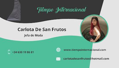 Carlota De San Frutos - Tiempo Internacional