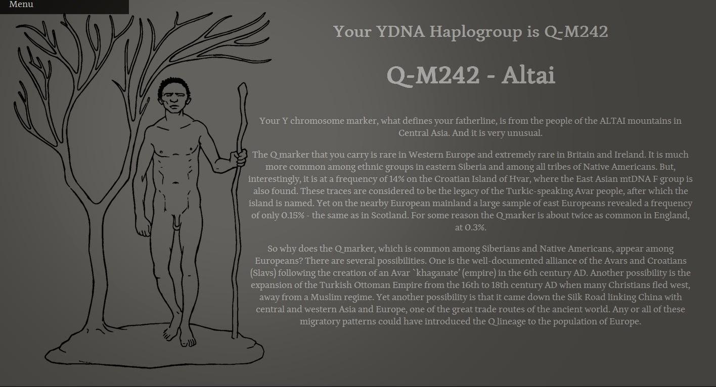 Haplogroup by look