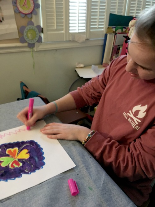 Painting with Thin Stix from The Pencil Grip Inc