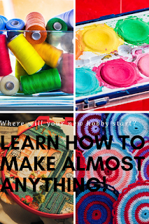 crafts, hobbies, learn how to make anything