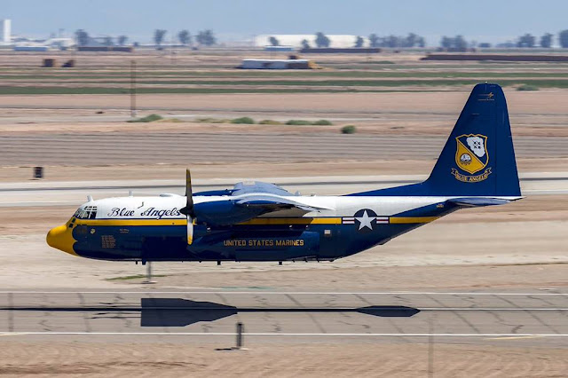 RAF C-130 Blue Angels Fat Albert