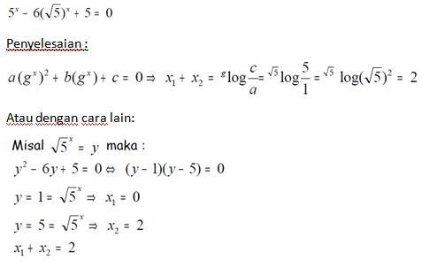 Contoh Soal Dan Pembahasan Persamaan Dan Fungsi Eksponen Matematika