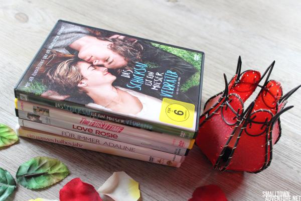 Liebesfilme - Dvd Sammlung - Blogparade Filmgenres