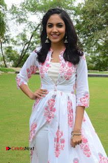 Actress Rithu Varma Pictures in Floral Dress at Pelli Choopulu Movie Press Meet  0018.JPG
