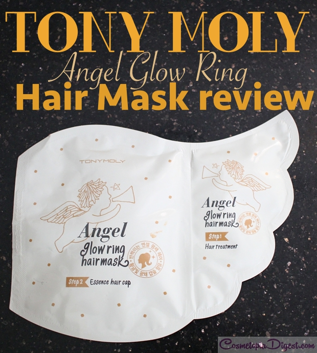 Tony Moly Angel Glow Ring Hair Mask review