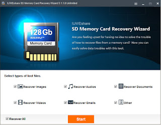 IUWEshare SD Memory Card Recovery Wizard 5.1.1.8 Unlimited Portable