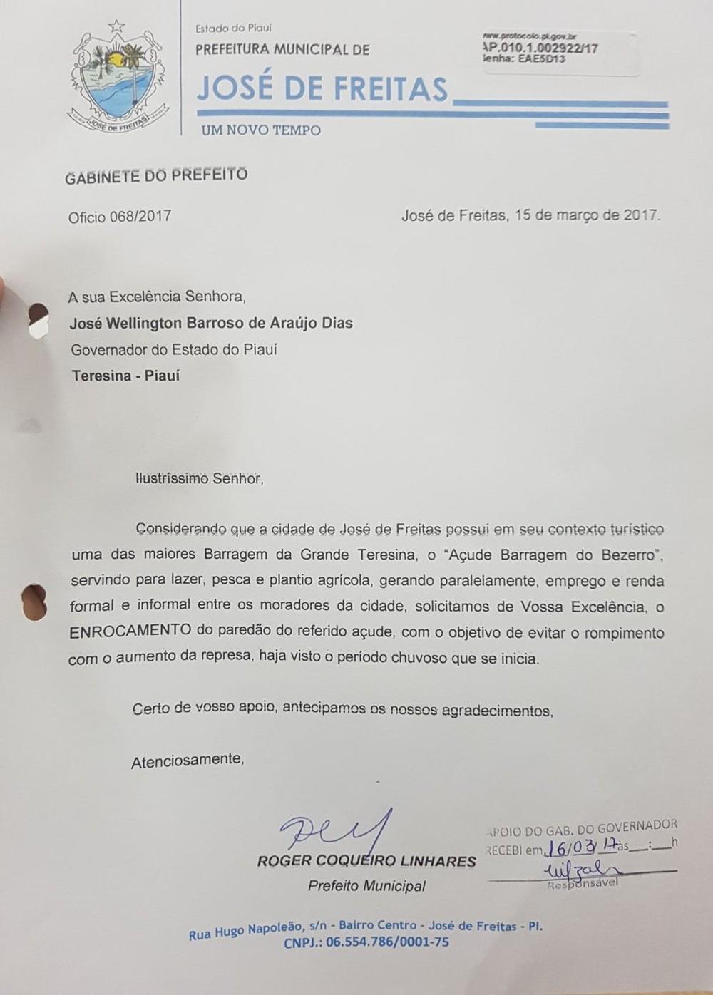 Prefeitura pediu reforço para Barragem do Bezerro há um ano por risco de romper