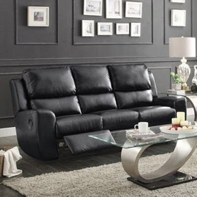 curved sofa: curved reclining sofa