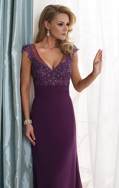 fdbe6526f62 mother of the bride dress with cap sleeves