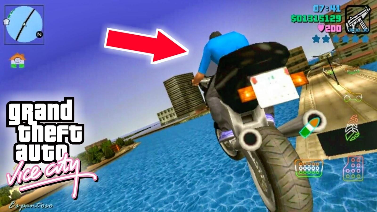 Bridge Jumping MOD GTA Vice City - Techy Harsh
