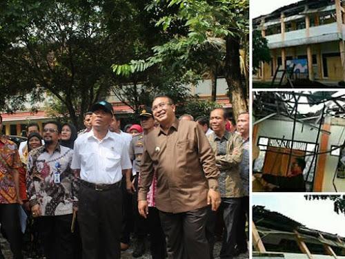 Kunjungan Mendikbud ke SMKN 3 Tasikmalaya