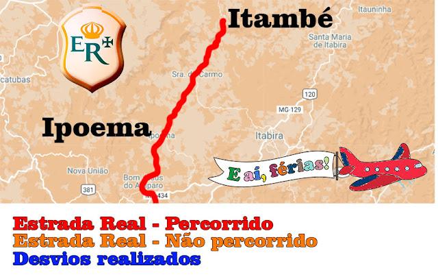 Estrada Real, Caminho dos Diamantes, Ipoema, Itambé do Mato Dentro