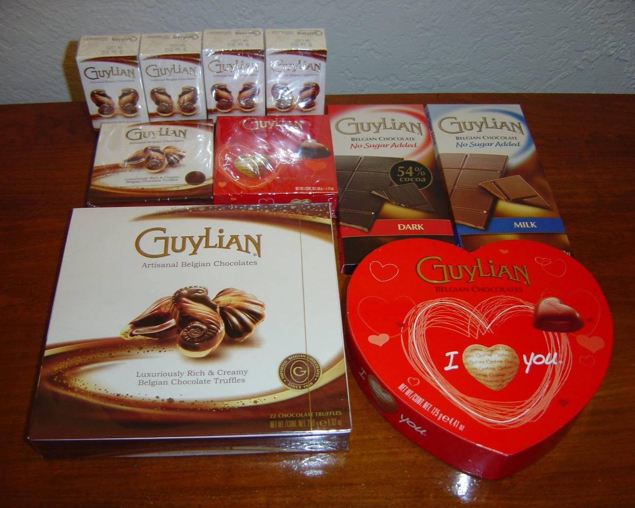 Guylian Artisanal Belgian Chocolate Truffles assortment