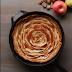 Caramel Rose Apple Pie