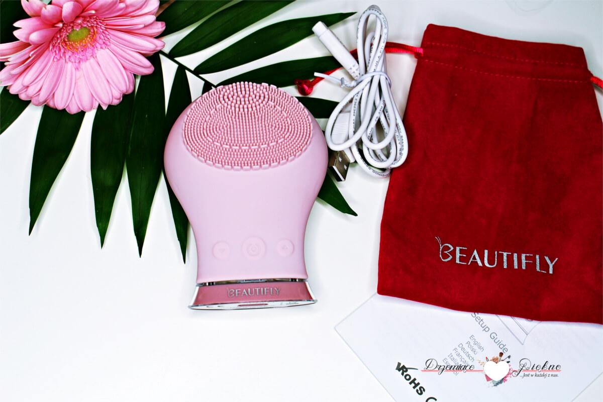 Soniczna szczoteczka do mycia twarzy Beautifly