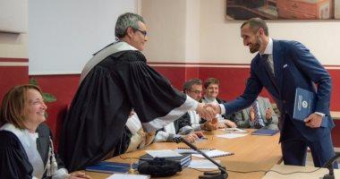 لاعب يوفنتوس يحصل على ماجستير ادارة الاعمال