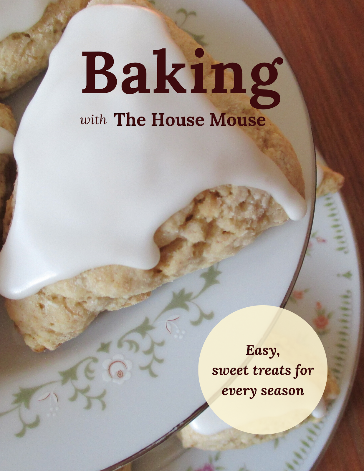 Baking with The House Mouse Recipe Book