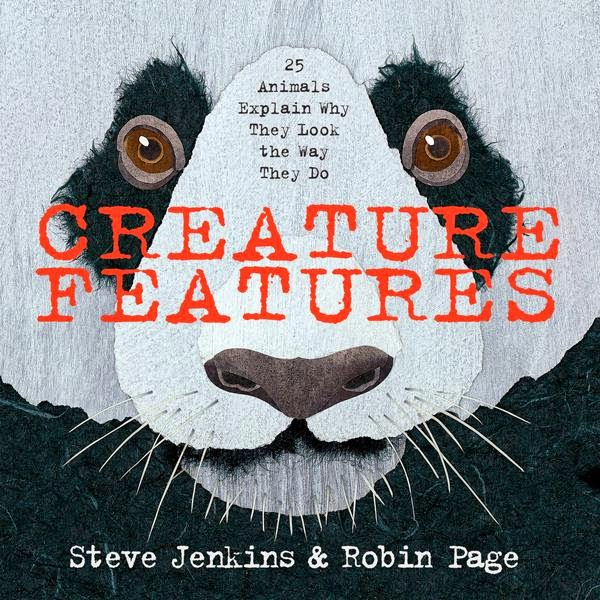 Creature Features by Steve Jenkins book cover nonfiction science