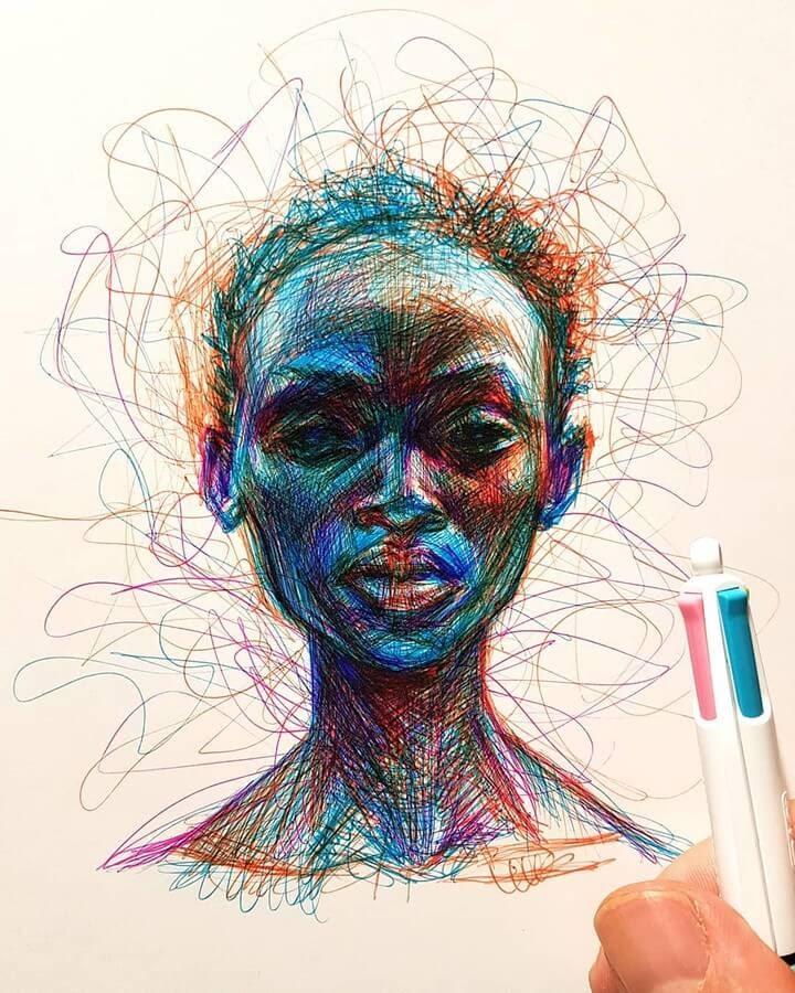 09-Alberto-Russo-Scribble-Drawings-www-designstack-co