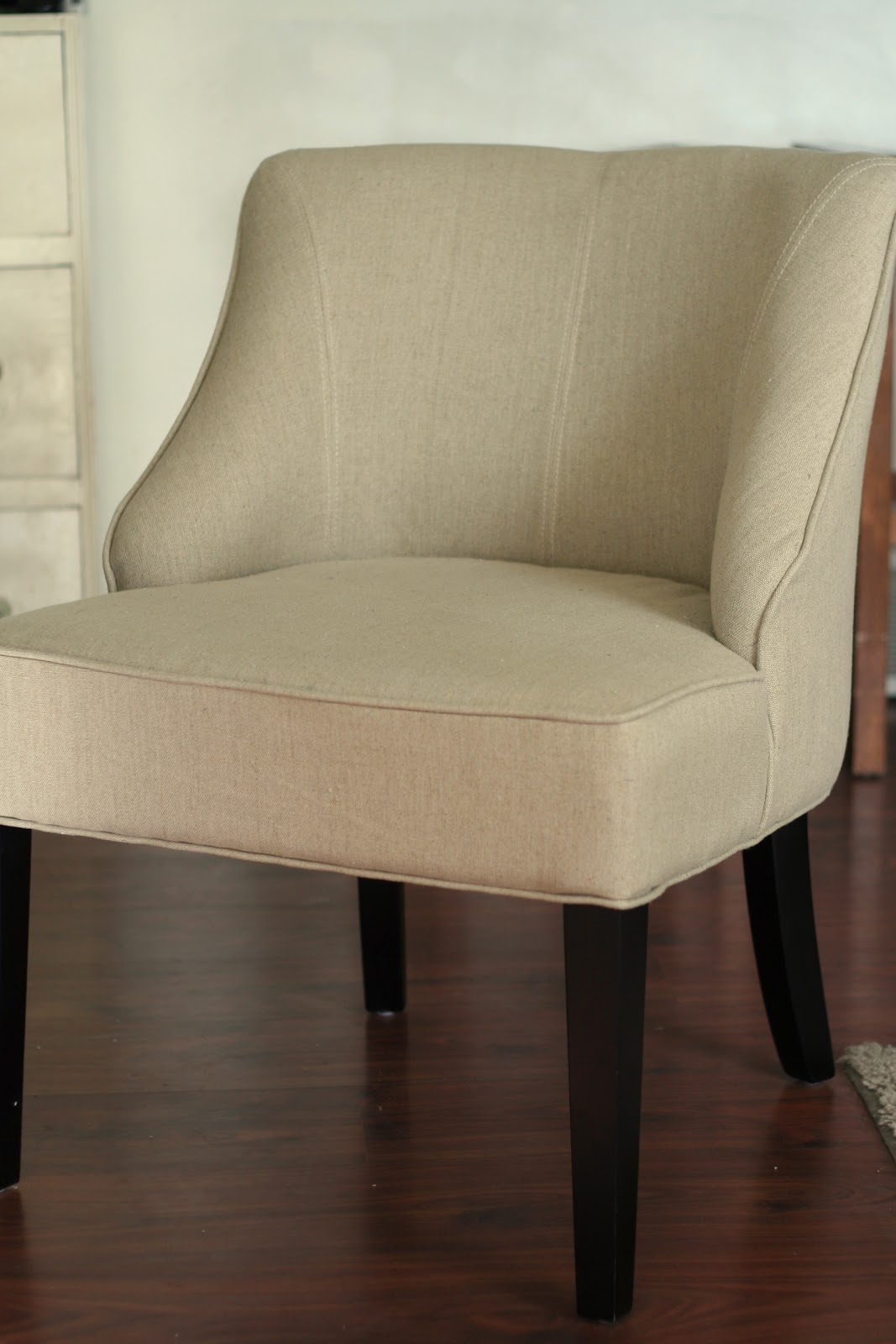 slipcover for armless chair crate and barrel cushions custom slipcovers by shelley quothow to