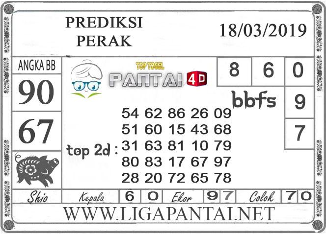 """Prediksi Togel """"PERAK"""" PANTAI4D 18  MARET 2019"""